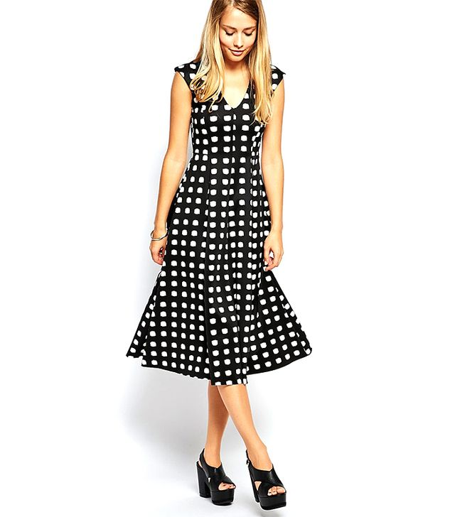 ASOS Scuba Midi Dress