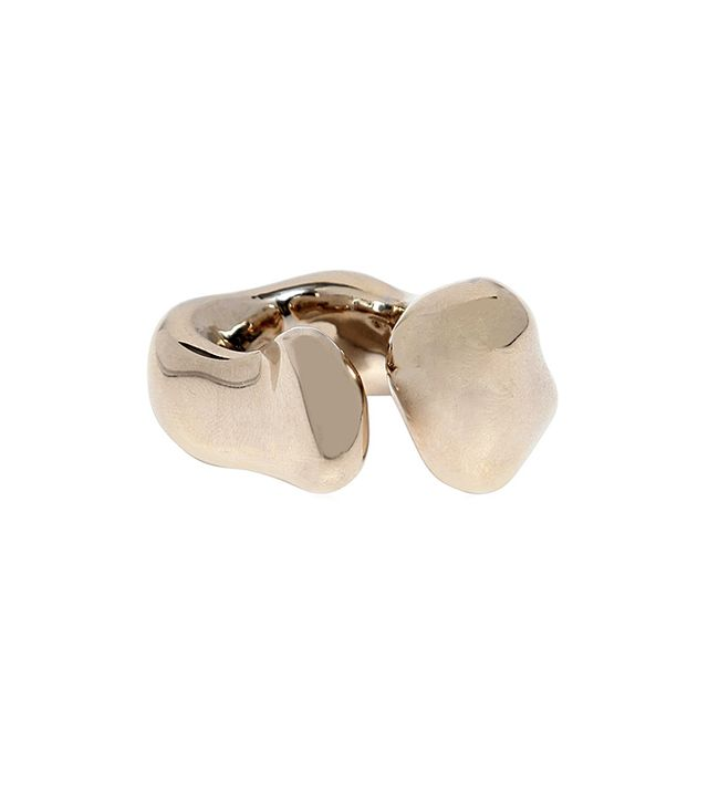 Maison Martin Margiela Gold Plated Pinky Ring
