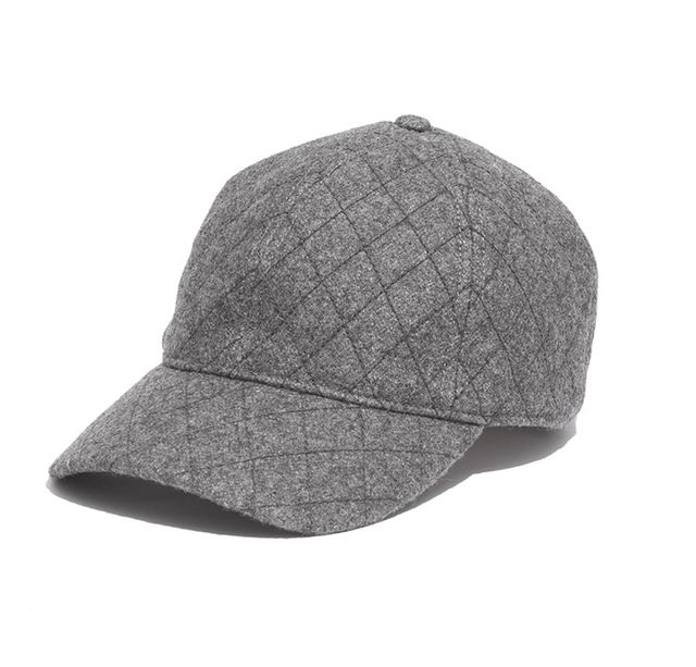 Madewell Quilted Baseball Hat