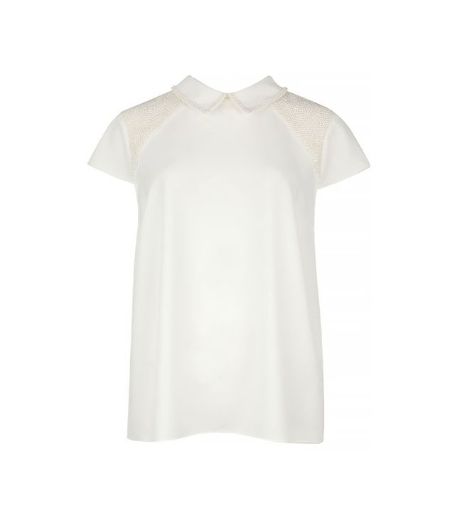 Ted Baker Osster Pearl Embellished Top