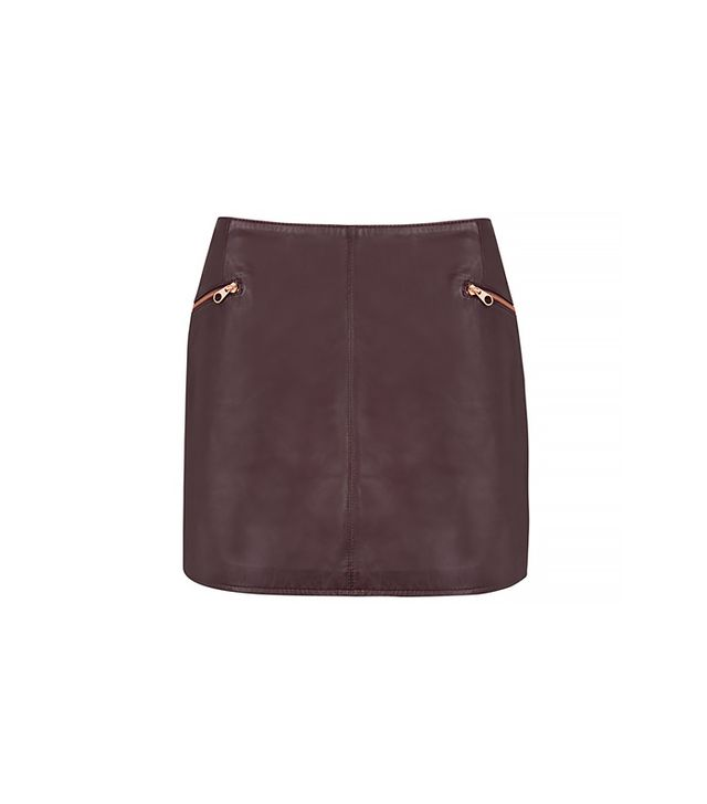 Ted Baker Gumley Leather Skirt