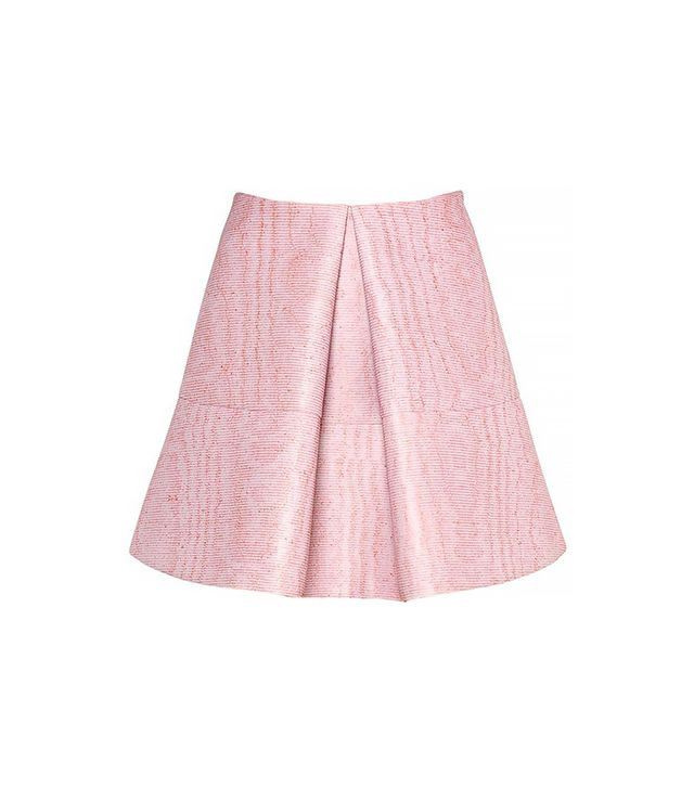 Vivetta Pleated Neoprene Skirt