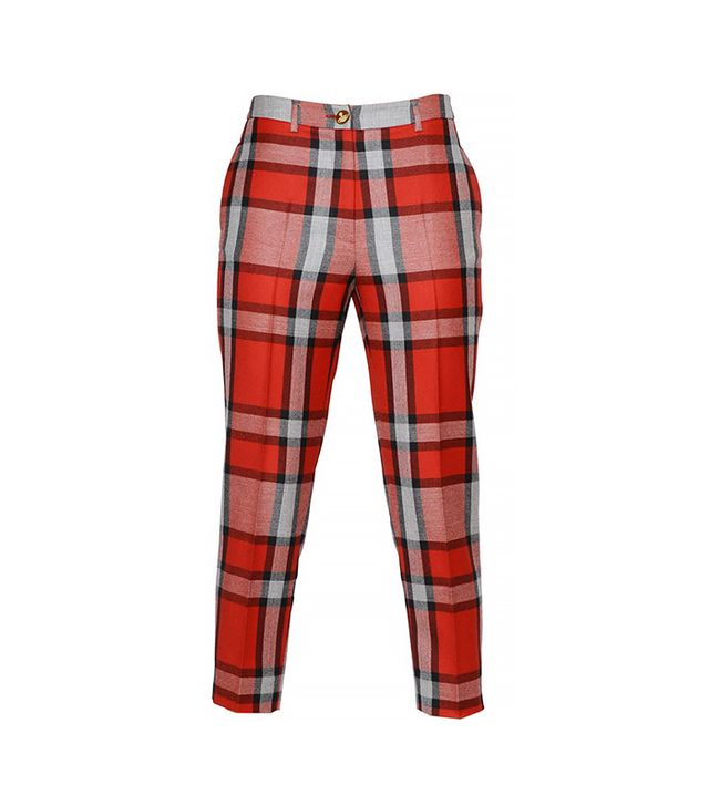 Vivienne Westwood Plaid Cool Wool Capri Pants