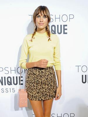 You Can Shop Alexa Chung's Adorable Topshop Look