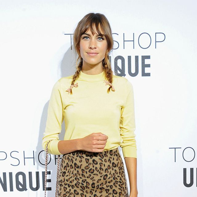 You Can Shop Alexa Chung's Adorable Topshop Look