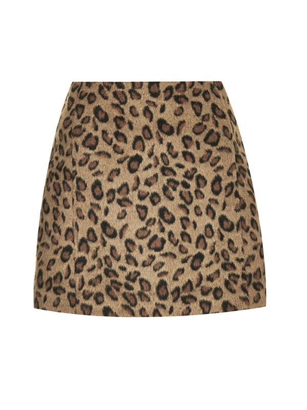 Topshop Print Pelmet Skirt