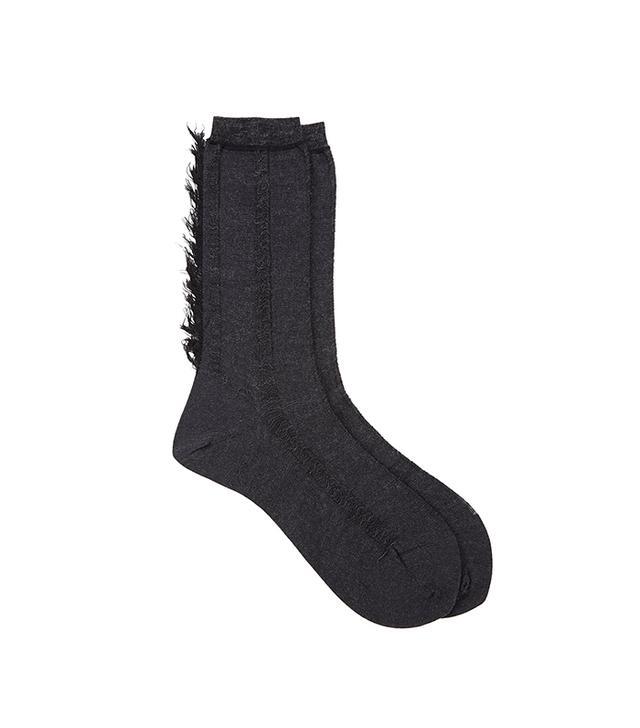 Antipast Delicate Fringe Socks