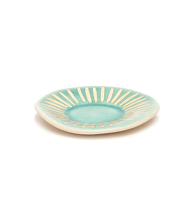 The Object Enthusiast Mint/Gold Ring Dish