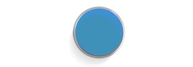 "Benjamin Moore ""Electric Blue"" (#2061-40)"