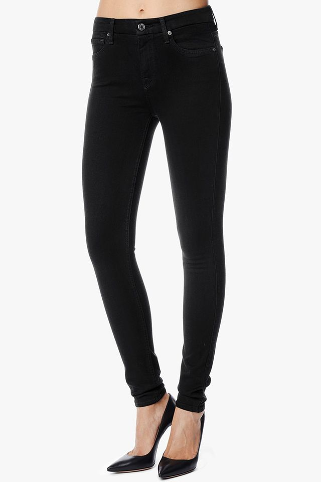 7 For All Mankind Slim Illusion Luxe High-Waist Skinny Jeans