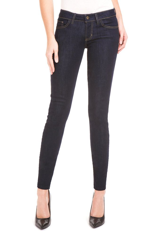 Guess Power Skinny Low-Rise Denim Leggings