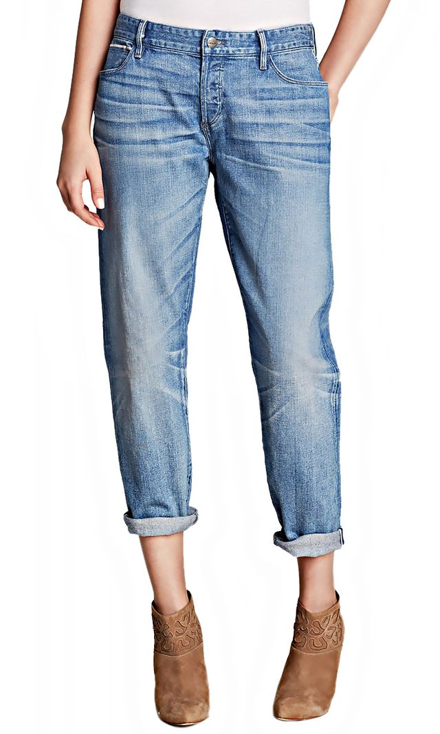 KORAL Relaxed Skinny Double Cuff Jeans