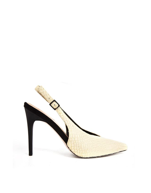 ASOS Presenter Leather Pointed High Heels
