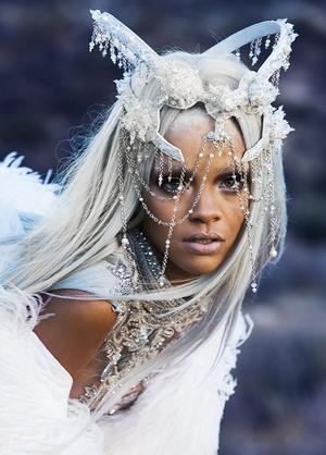 Rihanna Goes Futuristic For Tush Magazine