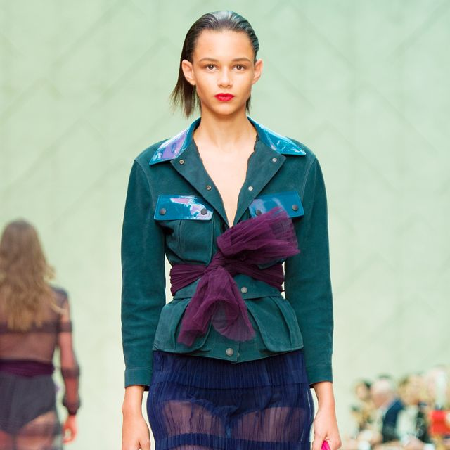 Burberry Prorsum S/S 15 Takes Inspiration From the Birds and the Bees