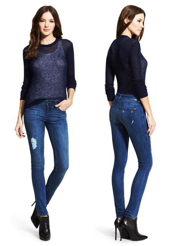 DL1961 Florence The Instasculpt Skinny Jeans