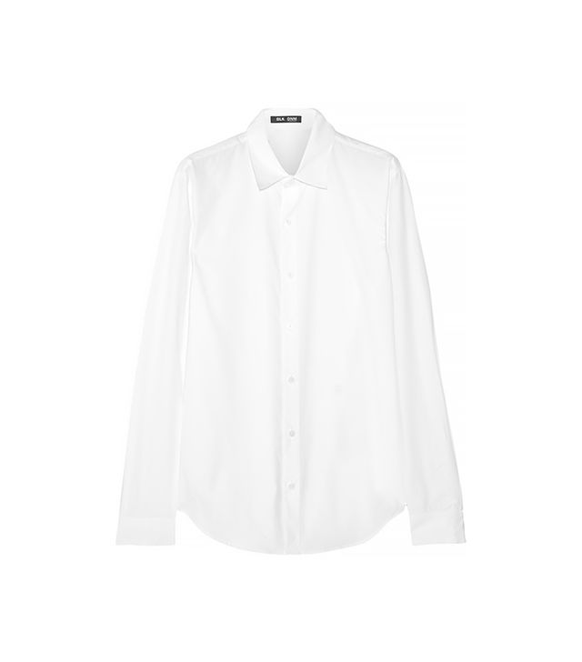 BLK DNM 50 Oversized Cotton-Poplin Shirt
