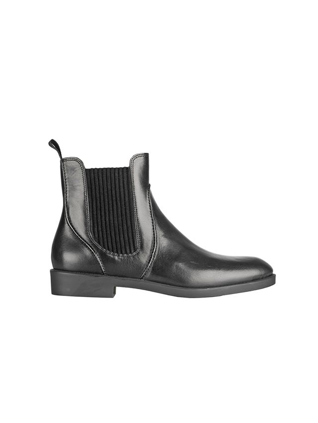 Marc by Marc Jacobs Suede-Trimmed Leather Chelsea Boots