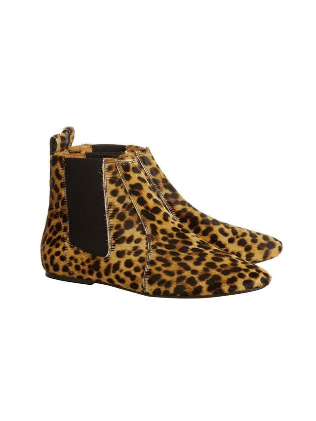 Isabel Marant Étoile Dewar leopard-print calf hair ankle boots