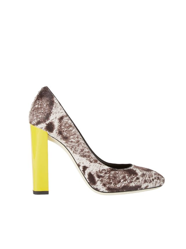 Fendi Haircalf Eloise Pumps