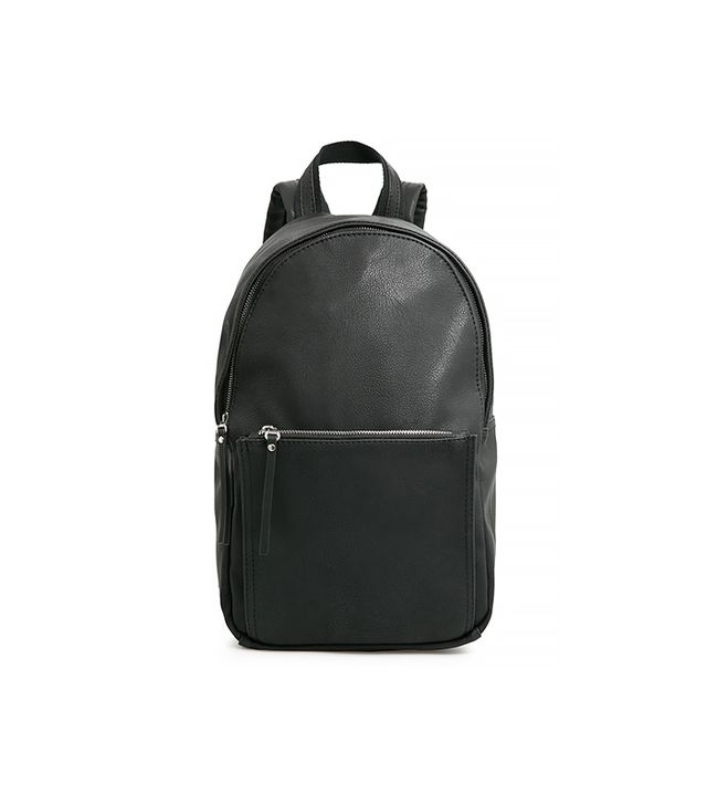 MANGO Pebbled Backpack