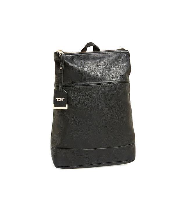 Poverty Flats Faux Leather Backpack