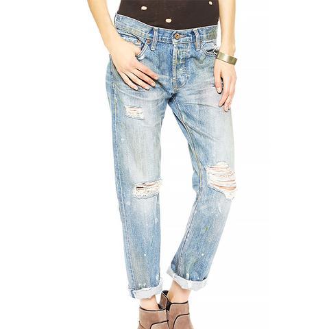 Beck Destroyed Boyfriend Jeans