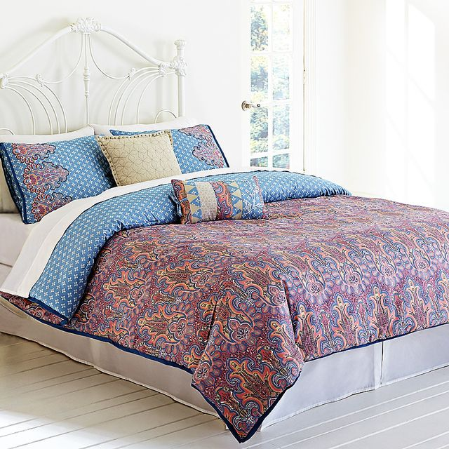 Jessica Simpson for Bed Bath & Beyond Elise Paisley Comforter Set