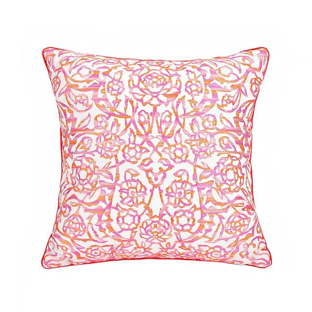 Jessica Simpson for Bed Bath & Beyond Sherbert Lace Square Toss Pillow