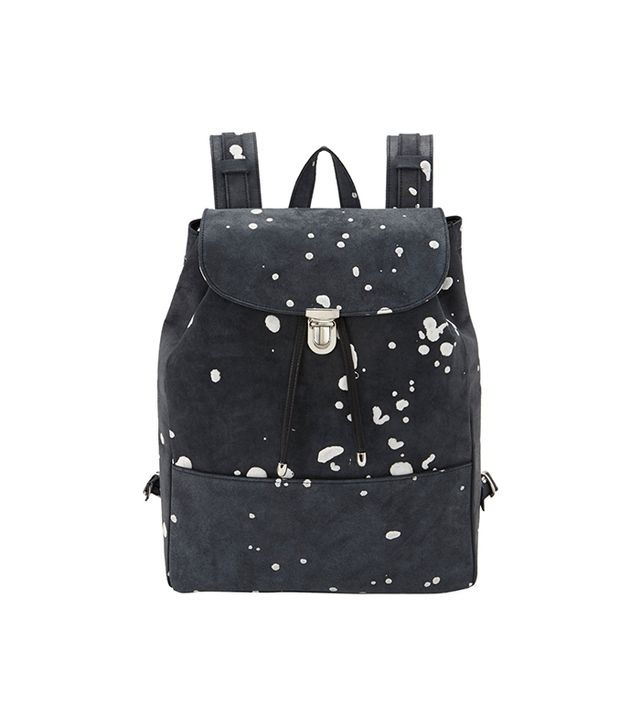 Illesteva Paint-Spattered Charlie Backpack