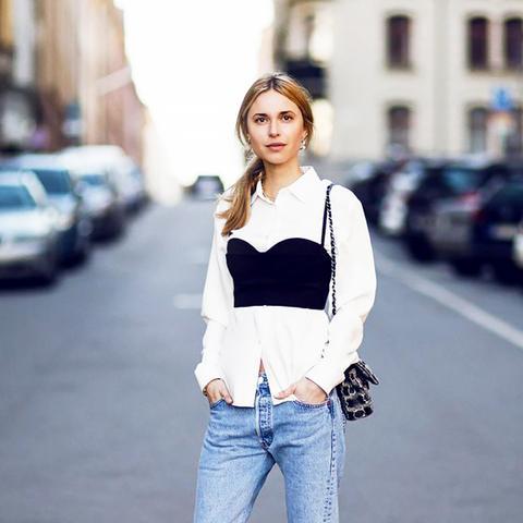 What Men Think of women in boyfriend jeans