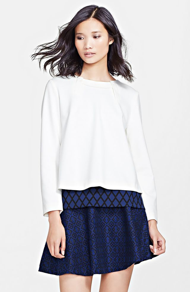 Mcginn Esme Double Layer Blouse
