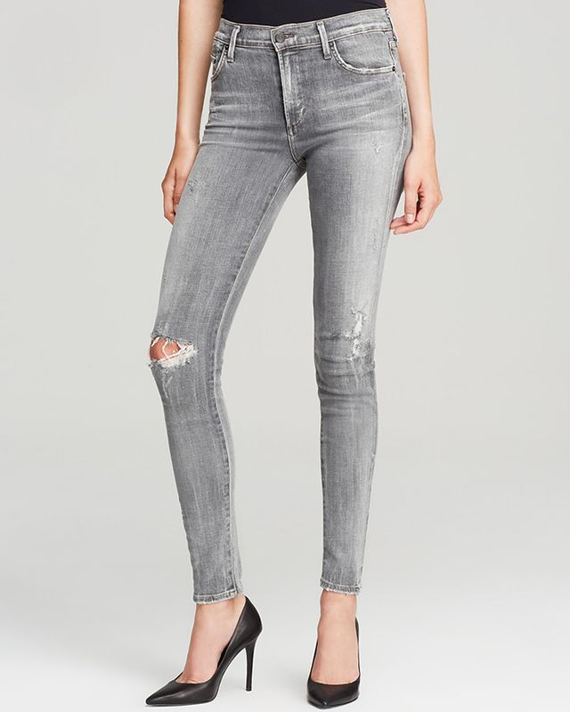 Citizens of Humanity Jeans Rocket High Rise Skinny in London Calling Bloomingdales