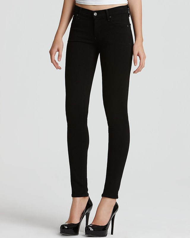 "Citizens of Humanity ""Avedon"" Super Stretch Denim Leggings in Axel Wash Bloomingdales"