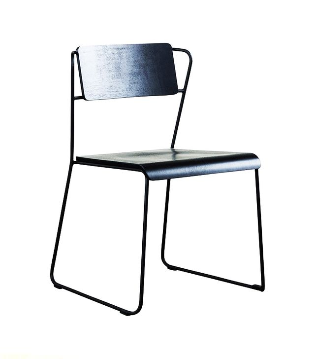 HD Buttercup Transit Black Dining Chair