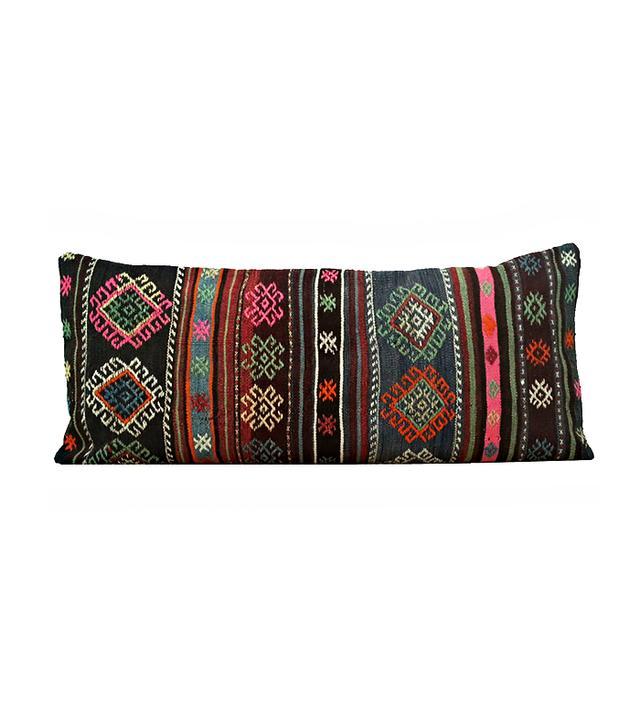 Amber Interiors Vintage Kilim Pillow