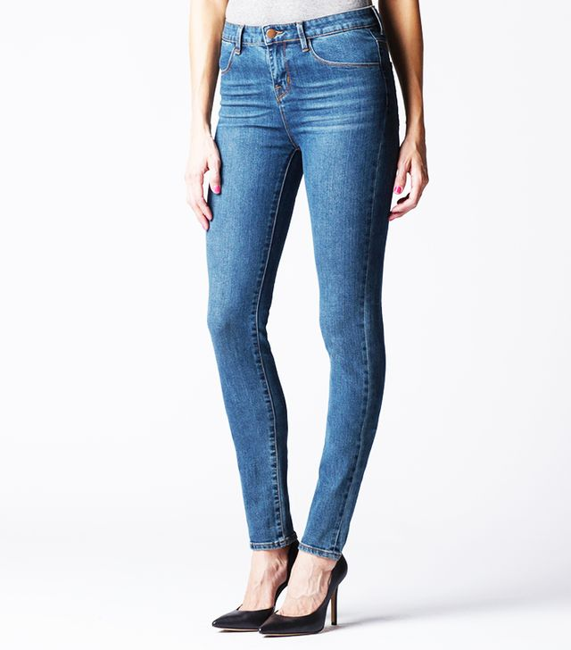 DSTLD High Waisted Skinny Jeans