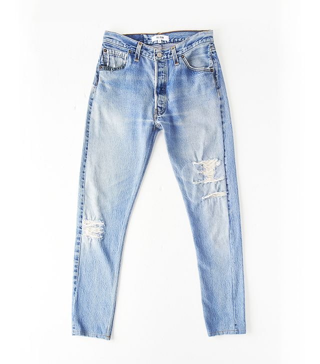 Re/Dun Straight Skinny Jeans