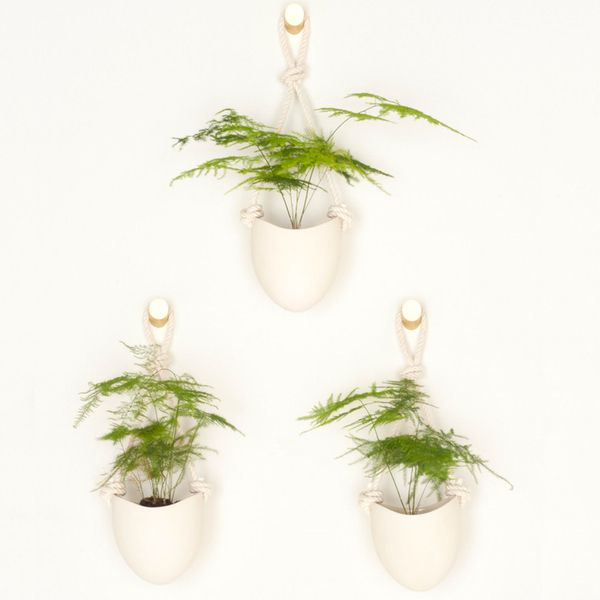 Light + Ladder The Most Perfect Porcelain Planters