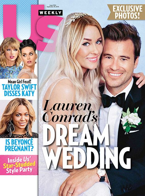 See the First Photo of Lauren Conrad's Wedding Dress!