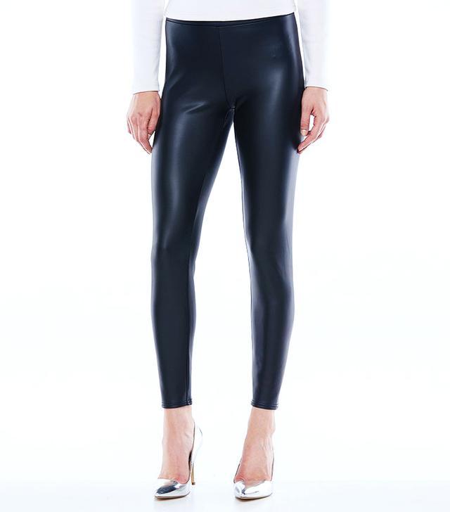 LC Lauren Conrad for Kohl's Faux Leather Leggings