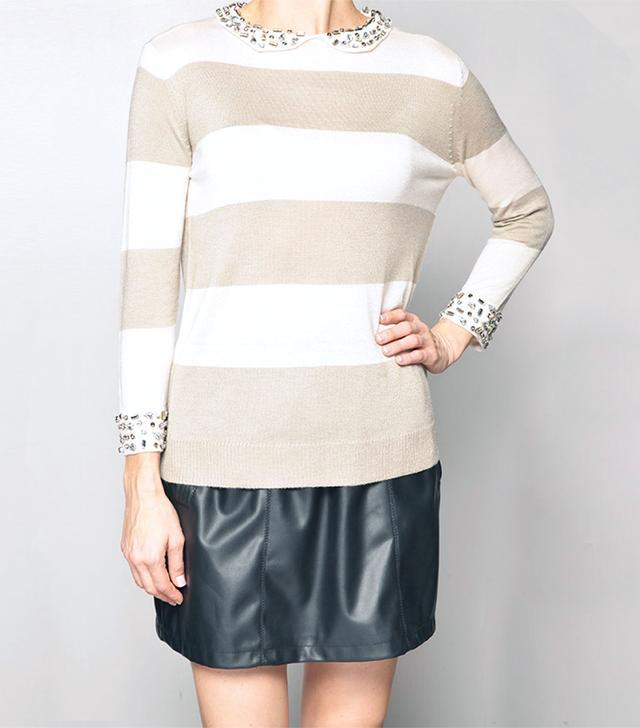 Paper Crown Camera Sweater