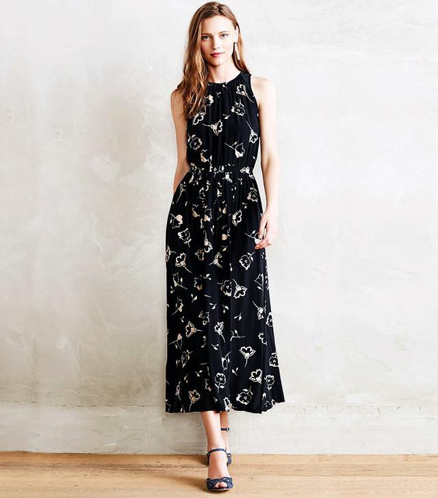 Paper Crown Viola Midi Dress