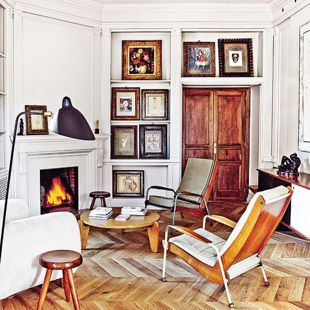 Step Inside a French Apartment in the Heart of Barcelona