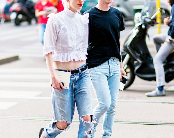 Image result for street style jean