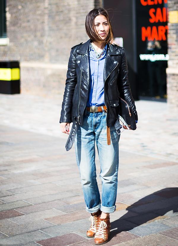 Get the Look: Golden Goose Deluxe Brand Boyfriend Cotton Jeans ($488)