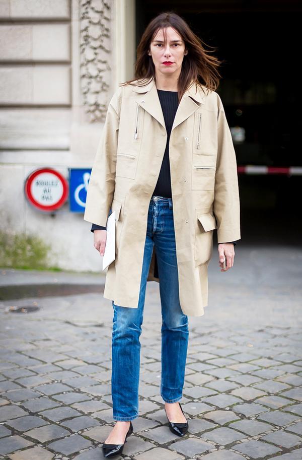 Get the Look: Victoria Beckham Denim Boyfriend Jeans ($420)