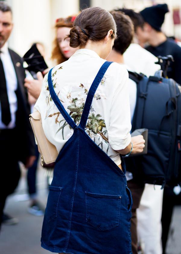 Get the Look: Zara Denim Jumper ($60)