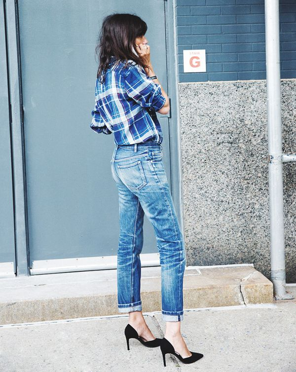 Get the Look: DSquared2 Super Slim Mid-Rise Cotton Denim Jeans ($495)