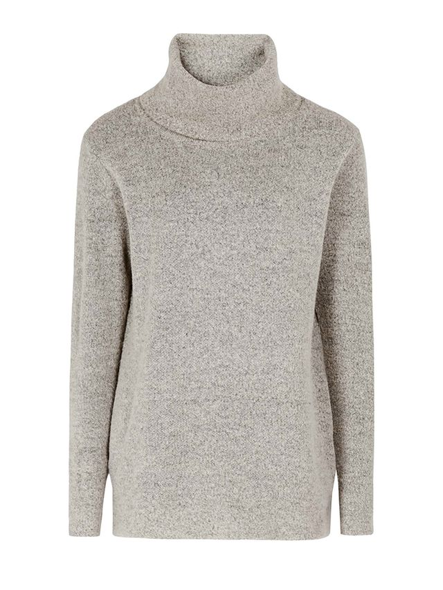 Reiss Sergant Oversized Roll Neck Jumper
